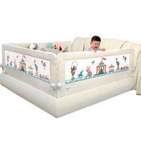 ingrosso biancheria da letto per i bambini-Lettino per culla Lettino prendisole 1.5-2 Metri Parapetto per recinzione Parapetto con grande tasca