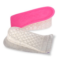 Wholesale hair tier - New three-tier physical increase insole three-tier heighten insole non-slip wear invisible heighten insole wholesale factory direct sale