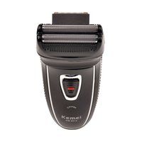 Wholesale Shaving Machine Man - Kemei New Rechargeable Electric Shaver Razor Double Reciprocating Hair Shaving Machine Men Wireless Shaving KM-8013