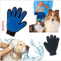 Wholesale Accessories For Dogs Wholesale - pet supply work glove dog accessory multi tool for professional cleaning and unhairing TPE made top quality