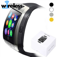 Wholesale Remote Iphone Support - For Iphone 6 7 8 X Android Cellphones Bluetooth Smart Watch Q18 Smart Watch Bluetooth Smart watches Support SIM Card Camera Answer Call