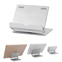 мобильный телефон ebook оптовых-Новый мобильный телефон планшет подставка держатель алюминиевый металлический док-кронштейн для iPhone 7 iPad планшет Kindle электронная книга для Samsung S8 Plus