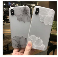 iphone dantel kılıfı toptan satış-IPhone X için iPhoneX Lüks Kapak Kılıf için Kabartmalı dantel Kılıf