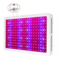 Full Spectrum 600W 800W 1000W LED Grow Light Kit medical lamp lights Free Power cord 10W Hydroponic Grow Lamps AC 85-265V US EU AU UK plug