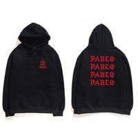 ingrosso hoodie di kanye west-Felpe con cappuccio Hip Hop Uomo che mi sento come Pablo Kanye West Streetwear Felpa con cappuccio Felpe con cappuccio stampa sociale con cappuccio Felpa con cappuccio Club