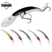Wholesale long tongue lures resale online - SeaKnight SK017 Minnow Fishing Lures mm g M Artificial Bait Long Tongue Floating Minnow Swimbait Fishing TackleY1883004