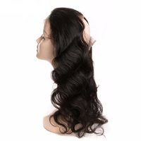 Wholesale 360 Lace Frontal Closure Body Wave Brazilian Human Hair Weave Bundles Free Part Closure With Baby Hair Non remy Hair Perstar