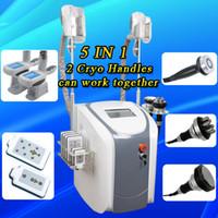 Wholesale lipo slimming - Zeltiq Cryolipolysis fat freezing machine Coolsculpting Cryotherapy slimming cavitation rf machine fat reduction lipo laser machine