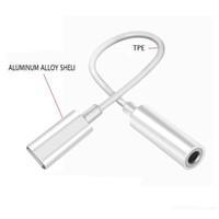 adaptador de cable auxiliar al por mayor-3.5mm Compatibilidad con 1OS 12 versión Auriculares Auriculares Adaptador Convertidor Cable de iluminación a 3.5 mm Audio Aux Conector Cable de adaptación
