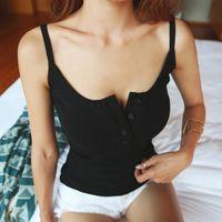 ingrosso magliette a maglia sottile femme-Maglietta a maniche lunghe da donna sexy slim slim t-shirt in cotone estivo T-shirt da donna Canotta casual T-Shirt da donna Femme