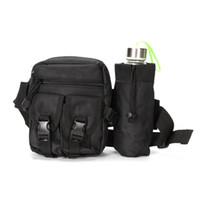 бесплатный чайник оптовых-Free Shipping 1 Pcs 1000D Dupont Nylon Waist Bag Multi-Function Waist Pack With Kettle Bag For Women Men Teenager Hot Sale