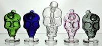 Wholesale Glass Bubble Bowls - New Mini Skull glass bongs hookah Blunt Bubbler Smoking Bubble Small Water Pipes Small Pipes Hand Pipe bowl hookah