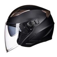 cascos para moto оптовых-Бесплатная Доставка Мотоциклетный Шлем с открытым лицом capacete para motocicleta cascos para moto гоночный мотоцикл Casque De Moto с двойной линзой E21
