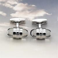ingrosso ornamenti di cristalli-Gemelli europei più popolari gemelli Hotsale di alta qualità in cristallo rotondo di cristallo per regali gentiluomini con ornamenti da uomo di buona qualità