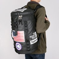 Wholesale school bags online - 18ss SUP THE NORTH Backpack FACE Lovers Travel Duffel Bag School Shoulder Bags Stuff Sack Sports Backpacks Outdoor Handbag