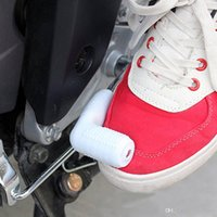 alavancas universais de motocicleta venda por atacado-Frete grátis yentl universal engrenagem shifter botas sapatos protetores anti-slip fit para kawasaki yamaha motocicleta alavanca de mudança de borracha