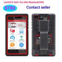 otomatik tarama başlat toptan satış-Launch x431 pro mini bluetooth / wifi tam ecu otomatik tanı-aracı 2 yıl ücretsiz güncelleme ile launch x-431 pro pros mini tarama aracı