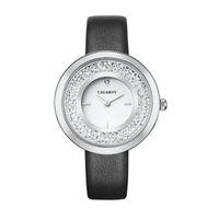 часы наручные оптовых-2018 марка высокое качество Алмаз кварцевые женские часы серебро мода дамы браслет часы подарок mujer reloje
