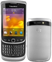 böğürtlen kilidini açma toptan satış-Orijinal Unlocked Blackberry 9810 5MP WIFI bluetooth QWERTY Klavye 3.2 'Dokunmatik Ekran Slider yenilenmiş telefon