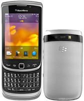 ingrosso schermo di scorrimento-Tastiera QWERTY bluetooth sbloccata originale Blackberry 9810 5MP WIFI Tastiera 3.2 'Touch Screen Slider telefono rinnovato