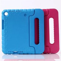 Wholesale huawei mediapad case inch - Case For Huawei MediaPad M5 8.4 SHT-W09 SHT-AL09 8.4 inch Kids EVA Silicone Safe Shockproof Handle Stand shell for M5 8.4+PEN