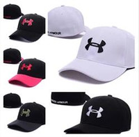 Wholesale Hip Hop Football - NEW adult Casquette Under Football High Quality Men Women Hip hop Adjustbale Basketball Cap Baseball Hat bone Snapback Caps Street Headwe