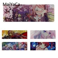 anime maus mädchen großhandel-MaiYaCa kühle neue Animemädchen schöne Anime-Mäusematte Größe für 30 * 80cm / 11.8 * 31.5inch kleines Mousemat