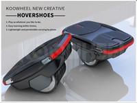 ingrosso nuove skateboard elettriche-2018 NUOVO Koowheel Exclusive Hoverhoes brevetto pattini da skate elettrico intelligente singola ruota auto bilanciamento Hover scarpe skateboard Potabile