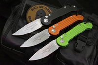 Wholesale Camping Outdoor Kitchen - Microtech LUDT 5391 folding knife D2 blade 6061-T6 Aluminum alloy handle outdoor camping hunting pocket fruit kitchen Knives EDC tool