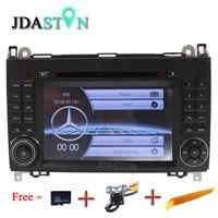 Wholesale mercedes sprinter - JDASTON 2 Din Auto Radio Car DVD GPS Head unit for Mercedes Benz B200 B Class W169 W245 Viano Vito W639 Sprinter W906 Bluetooth