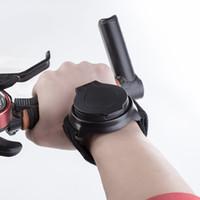 arka bakış bisikleti toptan satış-Bisiklet dikiz Aynası Bilek Bandı Kol 360 Derece Rotasyon Reflektör Sürme Ekipmanları Siyah Bisiklet Aynalar Dayanıklı 36ma gg