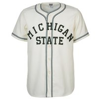 Wholesale xxxl for men online - Michigan State Home Baseball Jersey Double Stiched Name Number Logos Baseball Jersey Grey For Men Women Youth