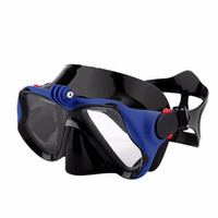 Wholesale xiaomi mask for sale - Group buy Water Sports Professional Underwater Camera Diving Mask Scuba Snorkel Swimming Goggles For Gopro Xiaomi Sjcam Sports Camera Sent From Ru