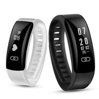 импульсный монитор смотреть умный оптовых-Smart Band K8 Blood Pressure Wrist Watch Pulse Fitness Tracker Smartband Meter Monitor Heart rate Call/SMS iOS Android Bracelet