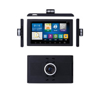 Wholesale android tablet gps support online – 9 inch Android Car Truck GPS Navigation DVR Video Recorder Tablet AV IN Support Reversing Camera GB With Free Mps T18