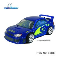 Wholesale Rc Car Nitro Engines - HSP RC CAR TOYS 1 8 BLUE ROCKET 4WD NITRO POWERED ON ROAD RALLY RACING CAR HIGH SPEED 18CXP ENGINE (ITEM NO. 94866)