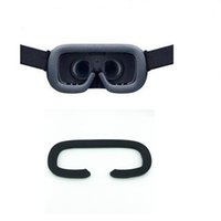 mascarilla de espuma al por mayor-Linhuipad Soft Foam Face Foam Eye Pillow Mask Pad Reemplazo para Gear Headset Realidad virtual 3d Glassesries Accesso