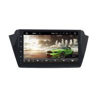 control de radio chino al por mayor-DVD del coche para Skoda Fabia 2015-2017 9 pulgadas táctil completa 2 GB RAM Andriod 6.0 con GPS, control del volante, Bluetooth, radio