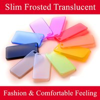 Wholesale iphone frosted case - For iphone x case Slim Frosted Translucent Protector Cover Sweet Soft Case with Comfortable Feeling for iphone samsung s7 s6
