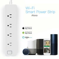 Wholesale Power Outlet Remote Control - Original Xiaomi Smart Power Strip 2 Socket Outlet Plug Mi Smart socket Home Strip for Home Electronics WiFi App Remote Control