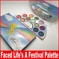 палитра жизни оптовых-Новейшие макияж палитра столкнулся жизнь фестиваль 13 цветов Мир любовь палитра теней для век высокое качество