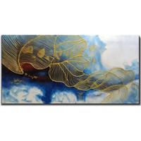 ingrosso dipinti di arte 3d per le pareti-Dipinto a mano 24x48 pollici Dipinto a mano olio dipinto a mano 3D su tela astratta opere d'arte arte decorazione della parete stile astratto