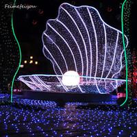 wasserdichter wechselstromstecker großhandel-Stecker 3x2 Meter wasserdicht EU 220V 200LED Multicolor Fairy Mesh Net Lichterkette Weihnachten Weihnachten Urlaub LED Lichterkette