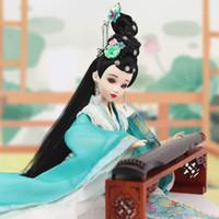 east box оптовых-Fortune days doll East charm name by Qingzhao Li, включая подставку для одежды и коробку 35 см