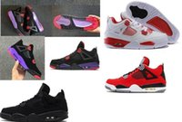 Wholesale michael basketball shoes for sale - Group buy TOP Factory Version Black Red Purple Basketball Shoes mens Big boy Kids Women trainers New Designer Sneakers from Michael Sports