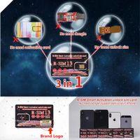 Wholesale Brand New Original Rsim Smart activation Unlock SIM Card Heicard Unlocking Card for iPhone XS MAX Support Edit iccid