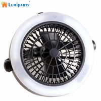 Wholesale Fan Energy Saving - LumiParty Outdoor Portable Multifunctional Energy-Saving Tent Lamp Hook Lantern With Ceiling Fan Outdoor Camping Hiking