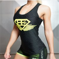 Wholesale Sexy Clips Woman - 2017 Body Engineers sexy goddess sexy women vest lingerie clipping Blusas bodybuilding fitness sleeveless vest for women