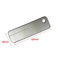 Wholesale pocket hook sharpener resale online - Pocket Diamond Sharpener Stone Steel Sharpener for Outdoor Tools Knife Fish Hook Finger Nail QW7325