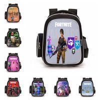 Wholesale gifts for teenage girls for sale - 39 colors Fortnite School Backpack for Teenage Girl Boys Casual Laptop Backpack Man Travel Bag Cartoon Printed Book Bag Kid Gift MMA427